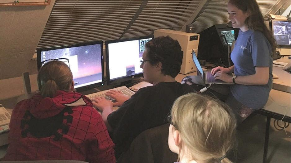 UA undergrads search skies for answers to massive star formation | Local news