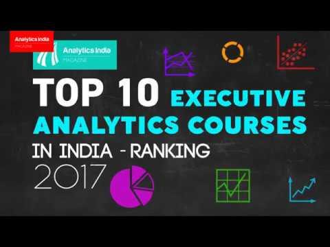 Top 10 Executive Analytics Courses in India – Ranking 2017