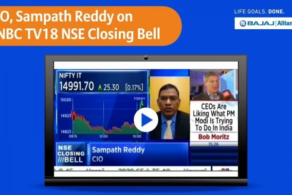 Select Top Performing ULIP Funds With Market Insights from Sampath Reddy   Bajaj Allianz Life