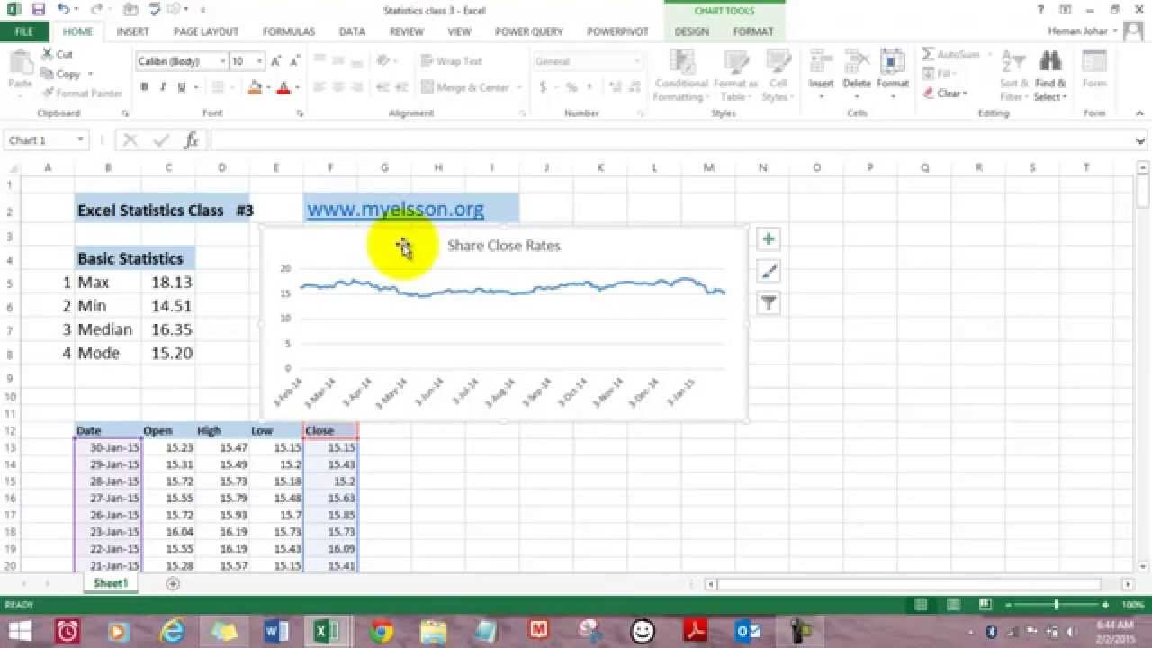 Data Analysis In Excel Max Min Mode Median Hindi