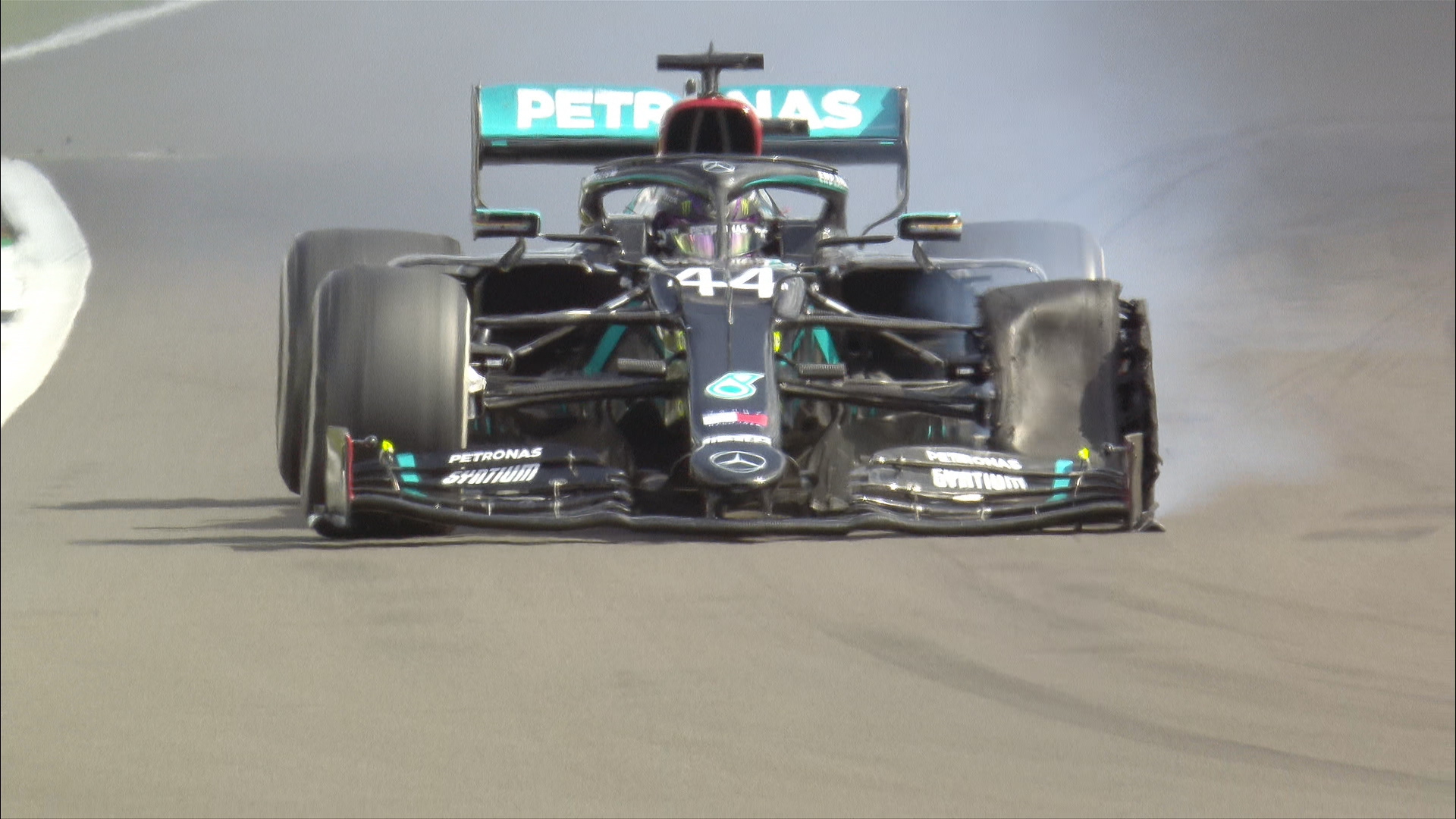 DATA ANALYSIS: How impressive was Lewis Hamilton's performance on three wheels in the British Grand Prix?