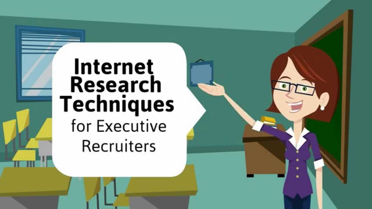 Internet Research Techniques for Executive Recruiters – introduction