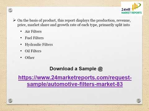 Global Automotive Filters Market Research Report 2017