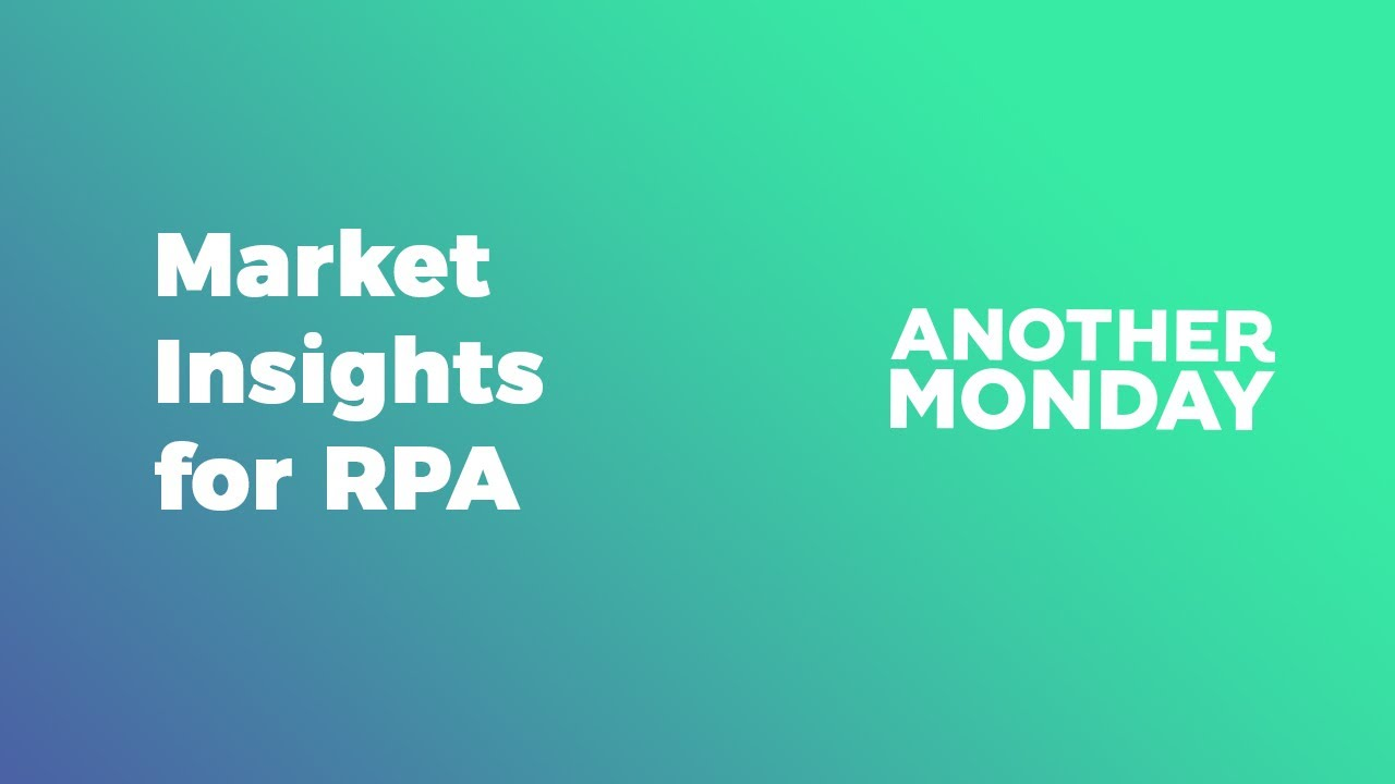 Market Insights for RPA