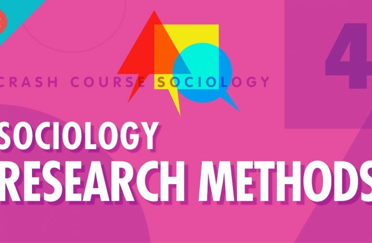 Sociology Research Methods: Crash Course Sociology #4