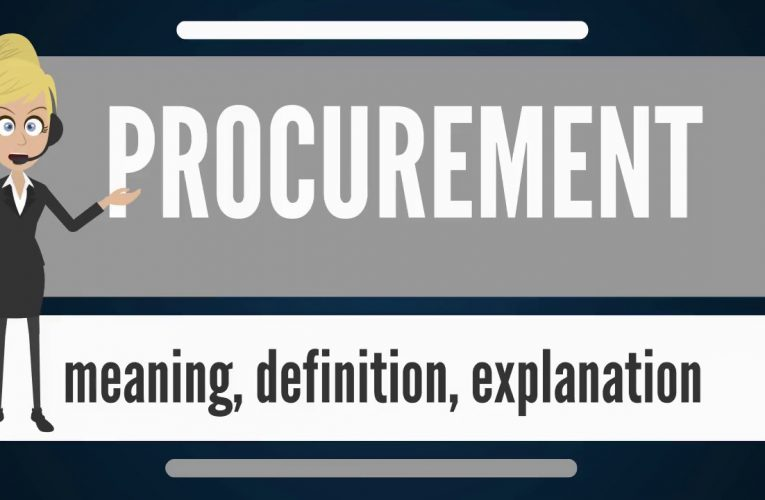 What is PROCUREMENT? What does PROCUREMENT mean? PROCUREMENT meaning, definition & explanation