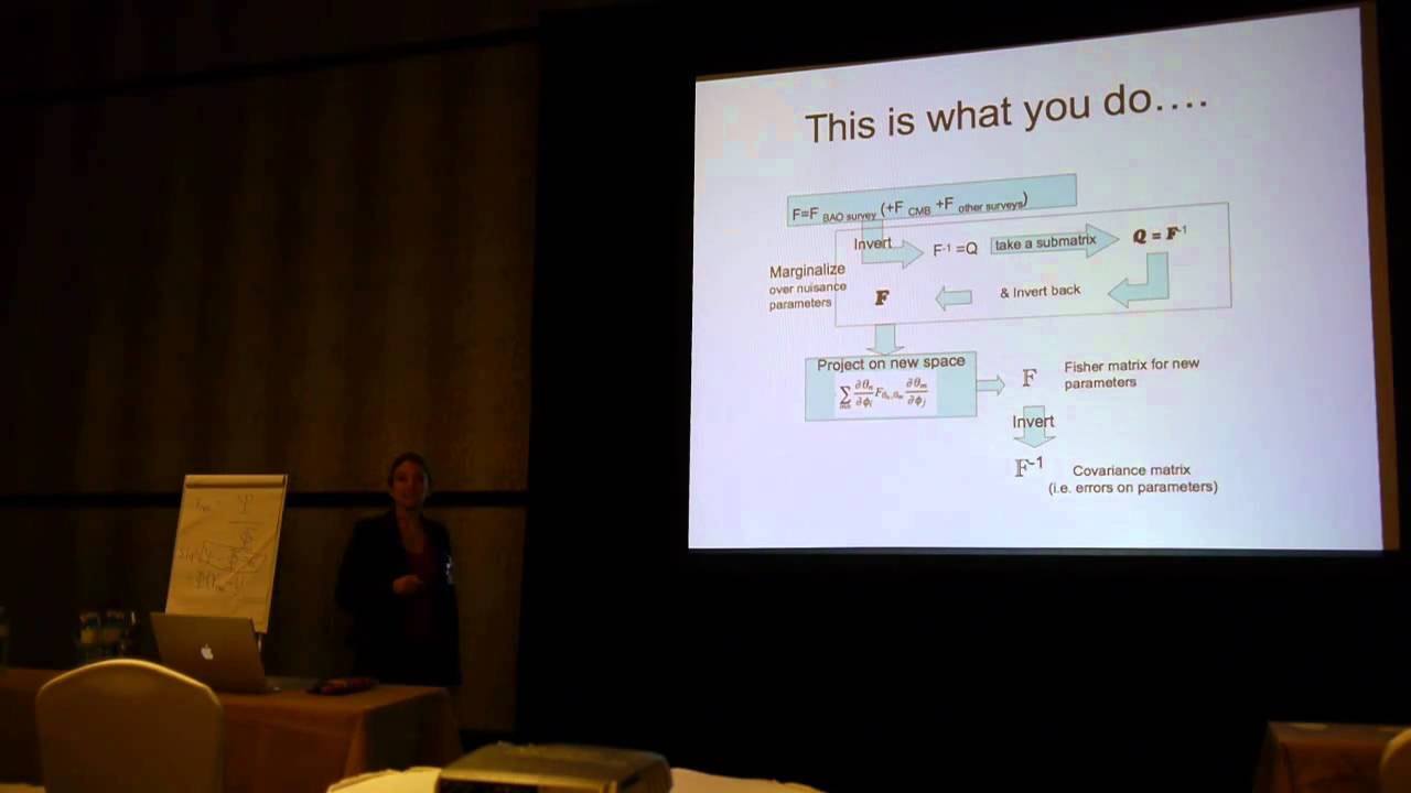 Licia Verde: Statistical techniques for data analysis in Cosmology. Lecture 3