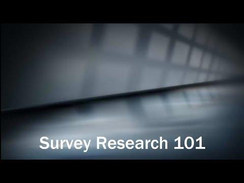 Survey Research 101