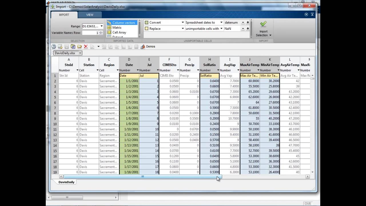 Beyond Excel: Enhancing Your Data Analysis with MATLAB