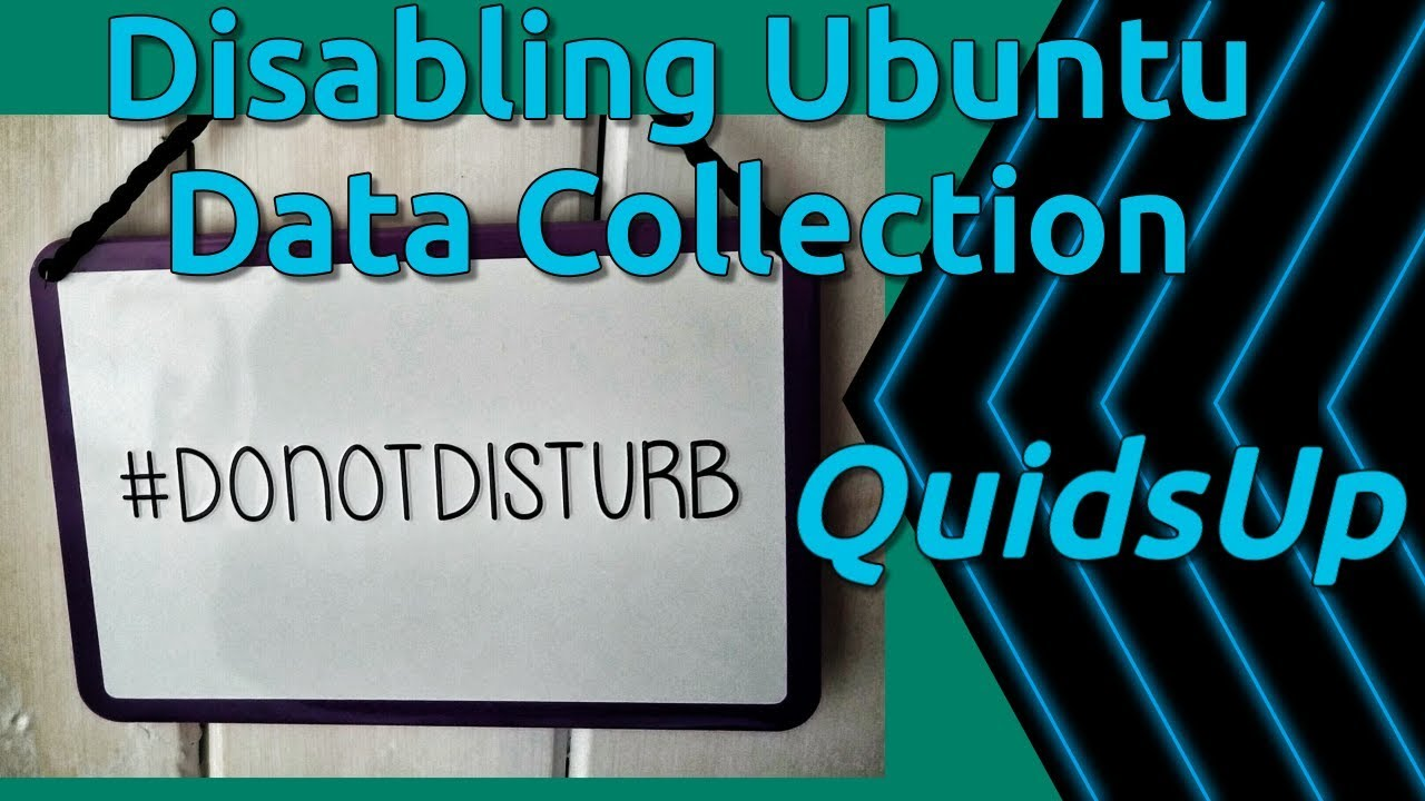 How To Disable Data Collection Services In Ubuntu 18.04