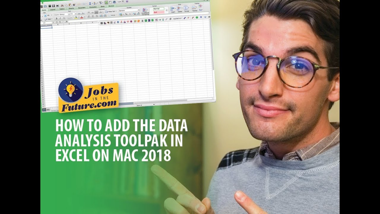 How to Add the Data Analysis ToolPak in Excel on Mac 2018
